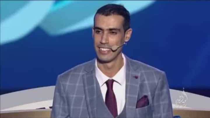 الشاعر المغربي عمر الراجي خامسا بمسابقة أمير الشعراء